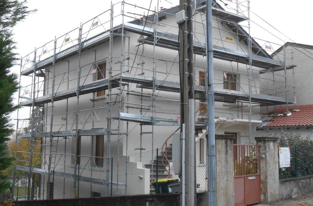 Ravalement de façade, tout un chantier